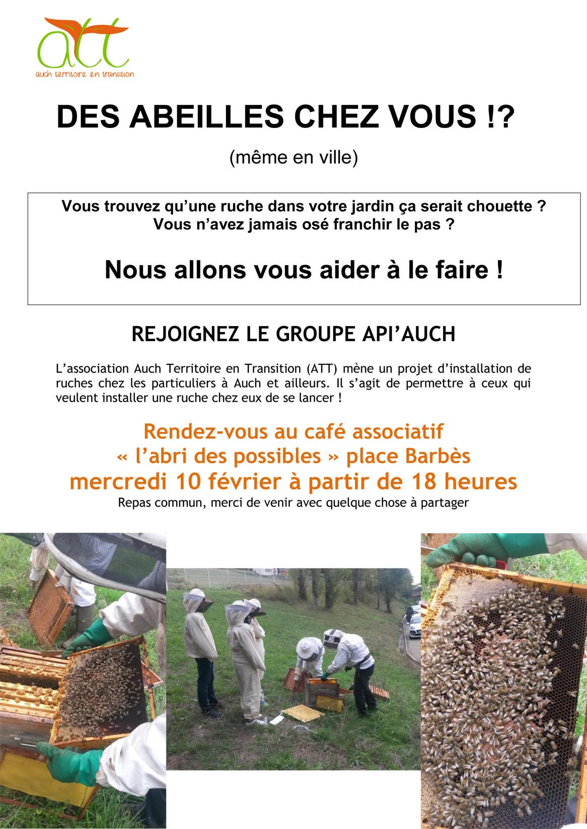installer ruche jardin